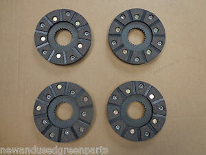 John Deere 40 320 330 420 430 H S U V 1010 Rs Brake Discs Set Of 4