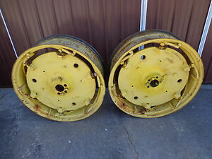 John Deere 730 720 630 620 530 520 Spin out Castings And Rims
