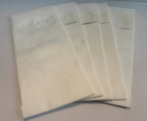 Lot 50 Expandable Tyvek Envelopes Mailers 11 X 5 White Brochures Pamphlets
