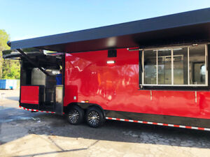 Bbq Concession Trailer Bbq Vending Trailer Generator Installed Must See