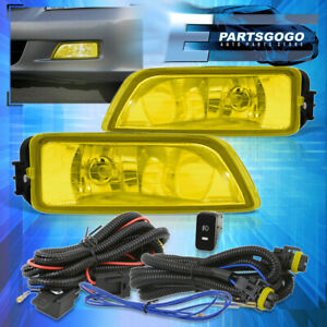 For 2003 2007 Honda Accord 2004 2008 Acura Tl Yellow Lens Fog Lights Switch
