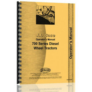 Operator Manual For Caterpillar 705 Tractor diesel orchard
