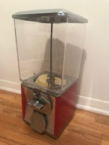 Gumball Machine Northwestern Nw Super 60 Candy Toy Vending Machine 25 Cent