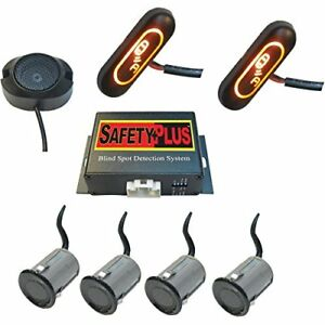 Crimestopper Bsd 754 Universal Blind Spot Detection System Front