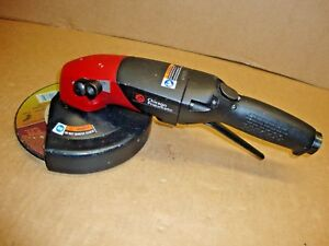 Chicago Pneumatic Cp3850 77ab7v 7 Air Angle Grinder 7700rpm