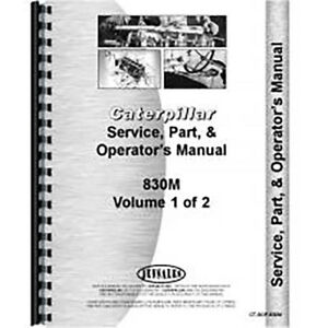 Parts Manual For Caterpillar 830m Tractor Dozer