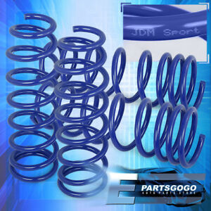 Sport Lowering Springs For 2013 2017 Honda Accord Sedan 2 4l Front Rear Blue