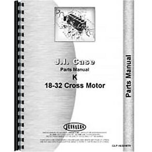 New Case 18 32 Tractor Parts Manual