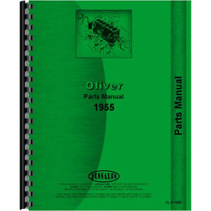 Oliver 1955 Tractor Parts Manual
