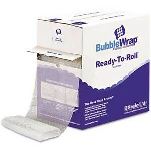 Sealed Air Bubble Wrap Cushioning Material 3 16 Thick 12 X 175 Ft 88655
