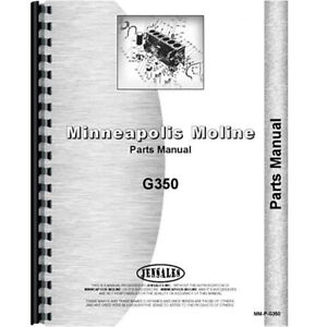 Oliver 1270 Tractor Parts Manual