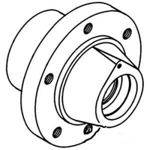 R62436 6 Bolt Hub Made To Fit John Deere Tractor 2440 2640