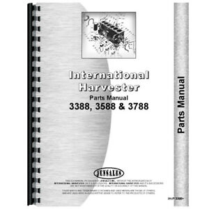 New International Harvester 3588 Tractor Parts Manual chassis Only