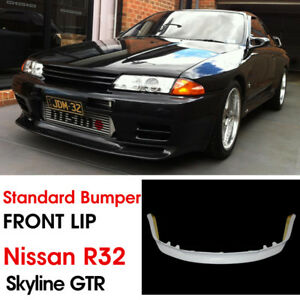 For Nissan Skyline R32 Standard Gtr Jun Frp Front Bumper Lip Bodykits
