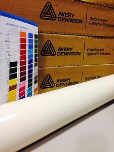24in X 150ft 2ft X 50yd Avery Hp700 Beige Cut Vinyl Roll