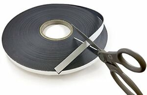Self Adhesive Flexible Magnetic Tape 100 Length 1 Magnets Fasteners Hardware