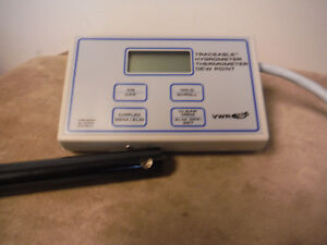 Vwr Traceable Hygrometer Thermometer Dew Point