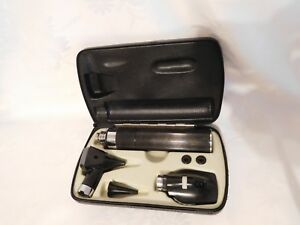 Welch Allyn Otoscope Ophthalmoscope Set In Case Models 71050 11600 25000