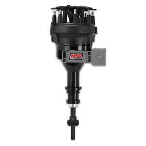 Msd Ford 5 0l Pro Billet Distributor Black Drop In Replacement For 1986 93 Efi