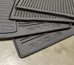 2014 2019 Nissan Rogue All Weather Mats 4pc Set Black 999e1 G2000 Genuine Oem