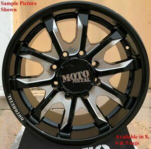 4 New 20 Wheels Rims For Savana Van 1500 C 2500 K 1500 K 2500 Gmc 751