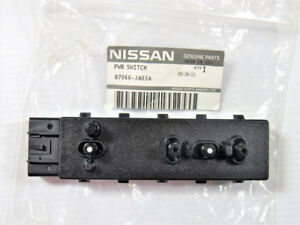 2008 2012 Nissan Altima Nv Left Driver Power Seat Slide Switch Genuine Oem New