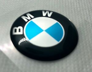 2 Pcs Bmw Logo Badge Sticker 30mm Domed 3d Stickers decals