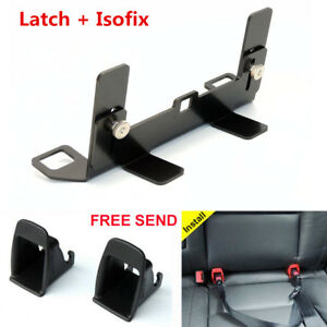 Car Seat Belt Interfaces Guide Bracket Latch Isofix For Baby Child Safety Seat