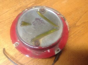 Early Signal stat Truck Bus Arrow Lamp Turn Signal Light Vintage Flange Mount