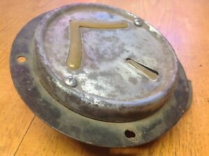 Early Flange Mount Arrow Safety Device Turn Signal Lamp Vintage Truck Bus Old