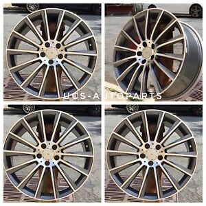 New 18 Amg Wheels Rims Fits Mercedes Benz Staggere Set Of 4