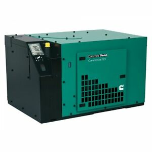 New Cummins 5kw Commercial Qd 5000 Diesel Generator 5 0hdkbc 2905 120 240 V 3 ph