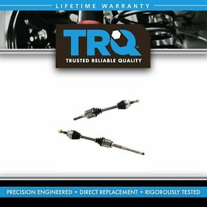 Trq New Complete Front Cv Axle Shaft Assembly Pair 2pc For Escape 1 6l 2 0l Awd