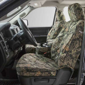 Covercraft Custom Seatsavers Carhartt Duckweave Front Buckets Mossy Oak Camo