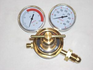 Acetylene Gas Regulator Ar 19 Welding Cutting Lp Or Propane 2 1 2 Gauges Cga510