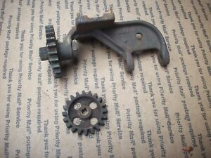 Ideal Stationary Engine Magneto Mount And Gears Hit Miss Antique Old Iron