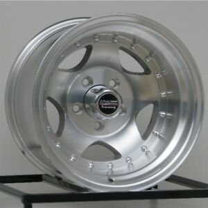 15 Inch Silver Wheels Rims Chevy Gmc Truck 1 2 Ton 5 Lug 5x5 Are Ar23 15