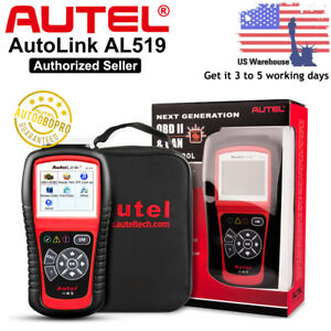 Autel Autolink Al519 Auto Diagnostic Scan Tool Obd2 Can Code Reader Color Screen