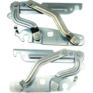 New Set Of 2 Hood Hinges Driver Passenger Side Lh Rh Fo1236151 Fo1236150 Pair