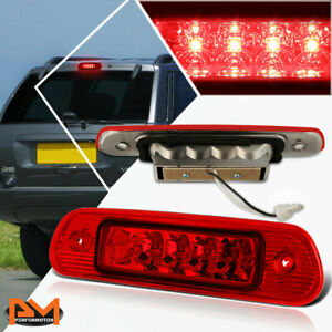 For 99 04 Jeep Grand Cherokee Led Third 3rd Tail Brake Light Stop Lamp Bar Red