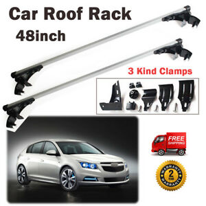For Chevy Cruze 2010 2017 Aluminum Car Roof Top Bar Crossbar Cargo Luaage Rack