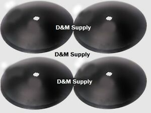 4 Pack Disc Harrow Blade 16 Plain Fits 7 8 Square Or 1 Round Axle