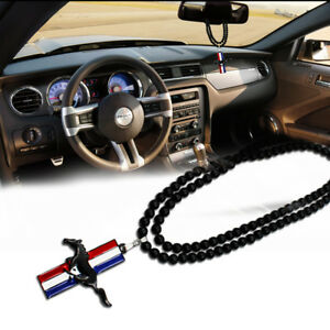 1x Charming Jdm Pony Horse Car Rearview Mirror Hanging Pendant For