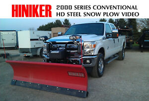 Hiniker Best 8 Commercial Snow Plow Conventional 2 Year Warranty 3 4 Ton