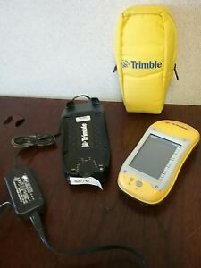 Trimble 50950 20 Geoxt Pocket Pc Geoexplorer With Charger Dock Power Adapter