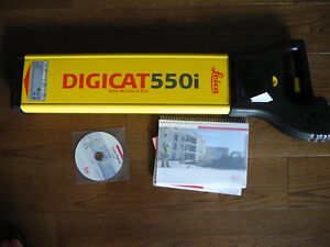 Leica Digicat 550i Utility Service Locator Cable Avoidance Tool