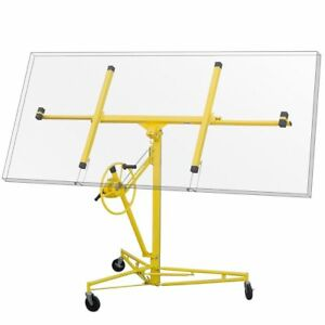 Pro 11 Drywall Sheetrock Rolling Lift Panel Hoist Jack Construction Tool
