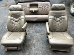 Ford F 350 Super Duty Leather Seats