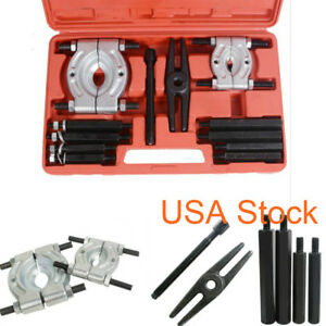 Usa 12pcs Bearing Splitter Gear Puller Fly Wheel Separator Set Tool Kit New