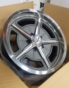 605 17x8 Ridler Grey Spoke 5 On 4 75 Gm Camaro Chevy W Lugs Salt Flat W Lugs